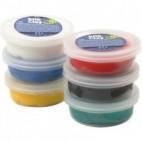 Masa plastyczna Silk Clay basic 6x14g