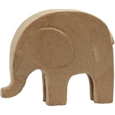 Papier-mache słoń