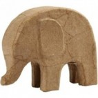 Papier-mache słoń mały