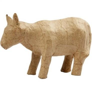 Papier-mache krowa