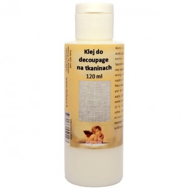 Klej do decoupage na tkaninie 120ml
