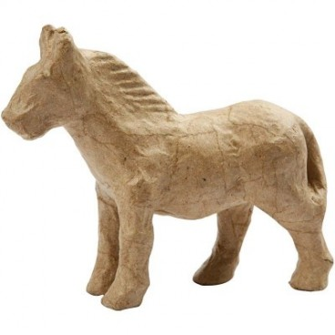 Papier-mache koń