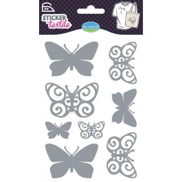 Naprasowywanka-Brokatowe motyle