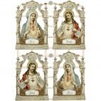 Papierowe ornamenty, ikony