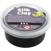 Masa plastyczna Silk Clay 40g czarny