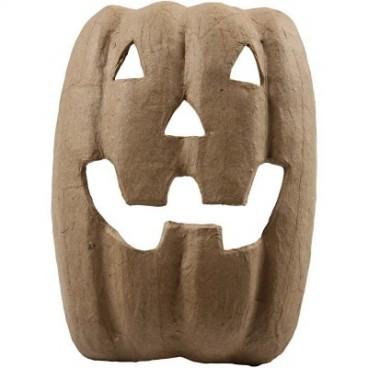 Papier-mache maska halloween 21,5cm