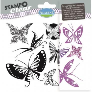 Stemple silikonowe - motyle