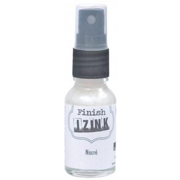 Spray z tuszem do papieru perłowa biel