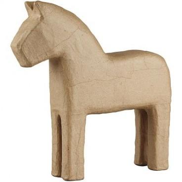 Papier-mache koń 25 cm