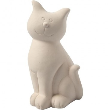Skarbonka Kot z gliny