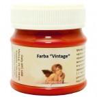 Farba vintage kredowa - czerwień wenecka 50 ml