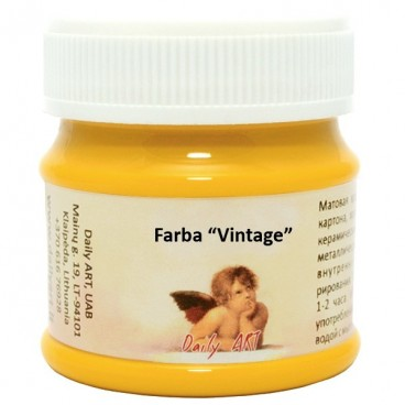 Farba vintage kredowa - słonecznik 50 ml
