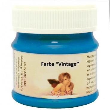 Farba vintage kredowa - błękit paryski 50 ml