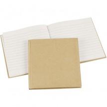 Zeszyt z papier mache 14 x 14 cm