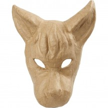 Maska osła papier mache