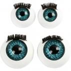 Oczy z rzęsami