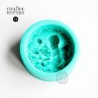Forma silikonowa 3D Anioł duży na mydło