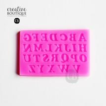 Forma silikonowa 3D Alfabet duże litery