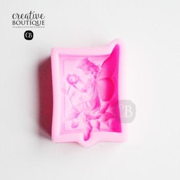 Forma silikonowa 3D Elf z kwiatem (mydło)