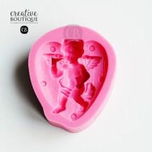 Forma silikonowa 3D Anioł w sercu
