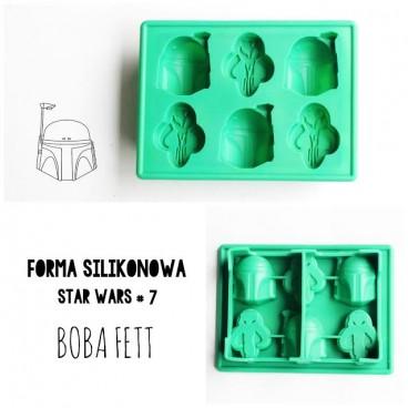 Forma Silikonowa 3D STAR WARS wz. 7 BOBA FETT
