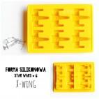 Forma silikonowa 3D STAR WARS wz. 6 X-WING