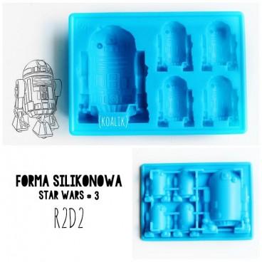 Forma silikonowa 3D STAR WARS wz. 3 R2D2