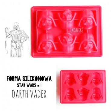 Forma silikonowa 3D STAR WARS wz. 1 DARTH VADER
