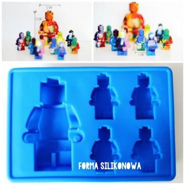 Forma silikonowa ludzik lego