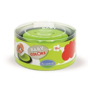 Tusz dla dzieci czerwony i jasno zielony