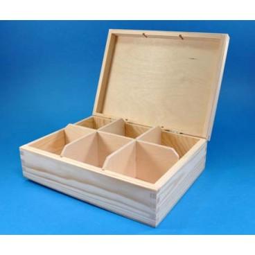 Pudełko na herbatę x6