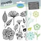 Stemple silikonowe - rośliny