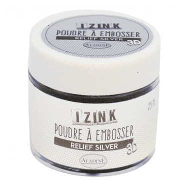 Puder do embossingu srebro 25 ml