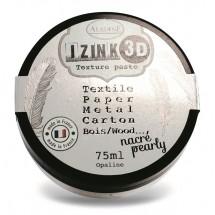 Pasta 3D perłowa biała 75 ml