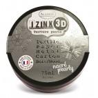 Pasta 3D metaliczna srebrna 75 ml