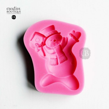 Forma silikonowa 3D Bałwan