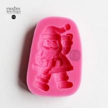 Forma silikonowa 3D Mikołaj