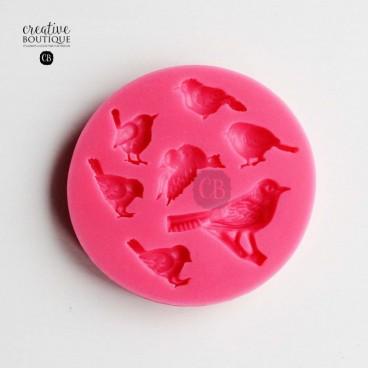 Forma silikonowa 3D Ptaszki