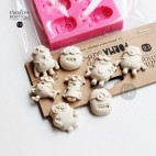 Forma siliokonowa 3D Minionki