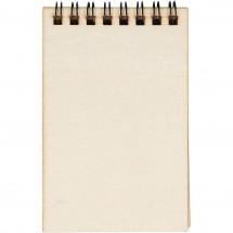Notesik z drewnianą okładką 11,5 x 7,5 cm