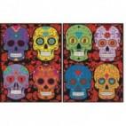 Segregator Colorvelvet - czaszki