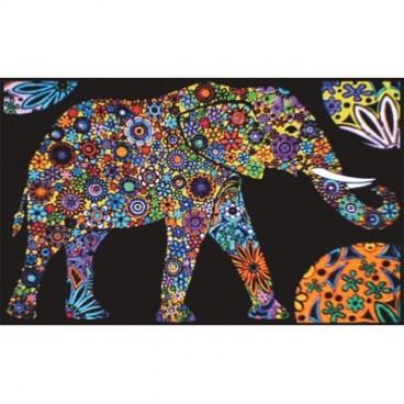 Teczka Colorvelvet - słoń