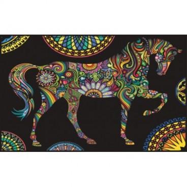 Teczka Colorvelvet - koń