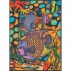 Malowanki Colorvelvet - ryby