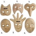 Papier-mache maska mała