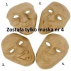 Papier-mache maska teatralna