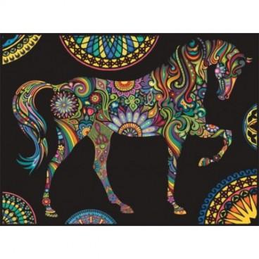 Malowanki Colorvelvet - koń