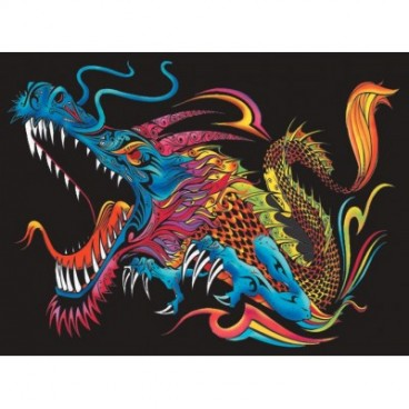 Malowanki Colorvelvet - smok