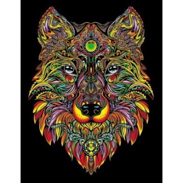 Malowanki Colorvelvet - wilk
