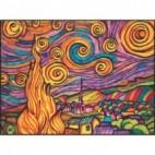 Malowanki Colorvelvet - van Gogh Noc